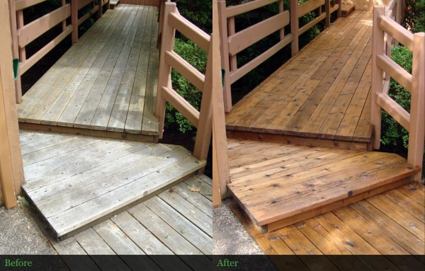 Wooden Bridge Restoration - Cascades, Oregon