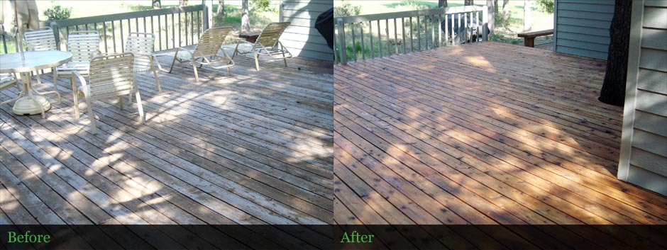 Deck Restoration - Lane County, OR