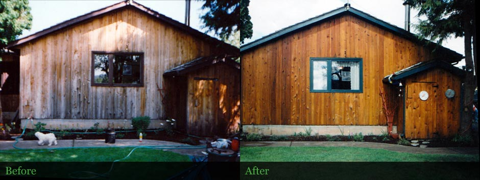 Wood Siding Restoration - Cascades, Oregon