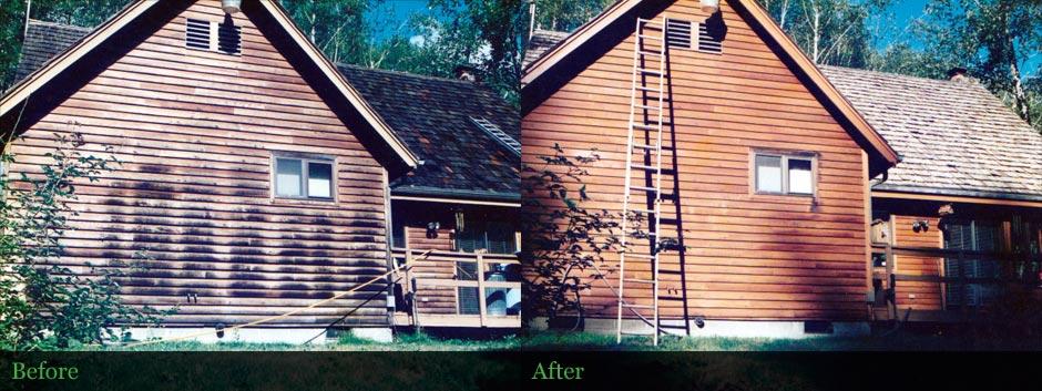 Wood Siding Restoration - Cascades, Oregon