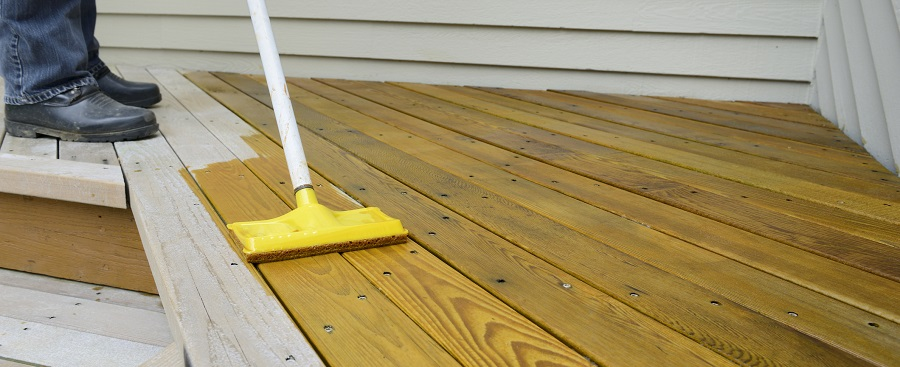 Deck Staining Company in Eugene
